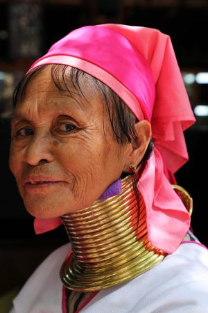 Tribal Woman at Shwezigon Pagoda.jpg
